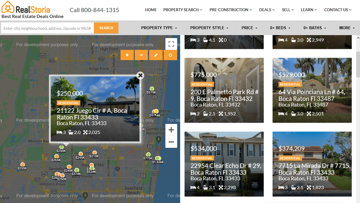 Search Homes and Condos For Sale in Florida