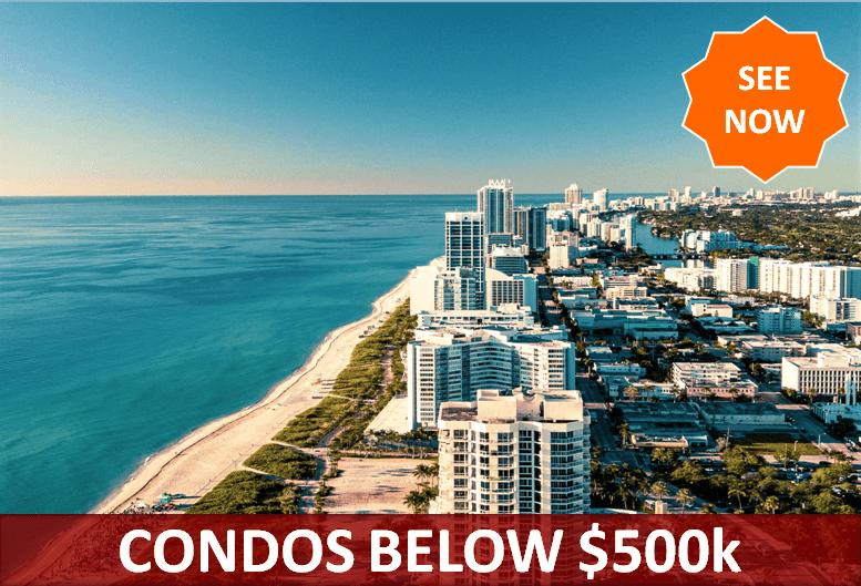 Condos below $500000