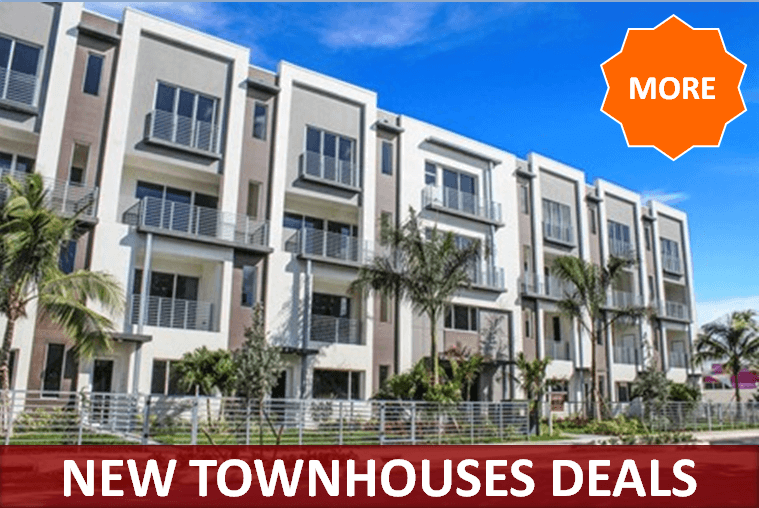 New Townhouses Deals by RealStoria