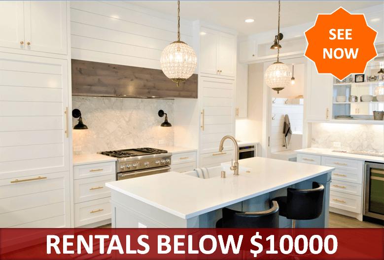 Rentals Below $10000